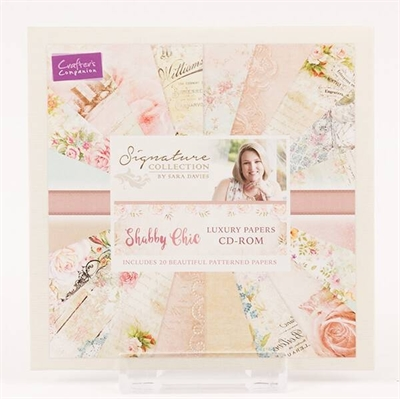 Happymade - Crafter\'s Companion CD-rom - Shabby Chic Luxury Papers - S-SC-CD